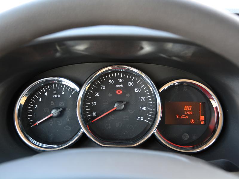 Dacia Dokker műszerfal
