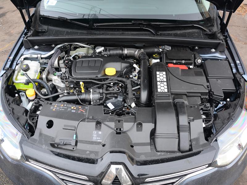 Mégane GrandCoupé motor