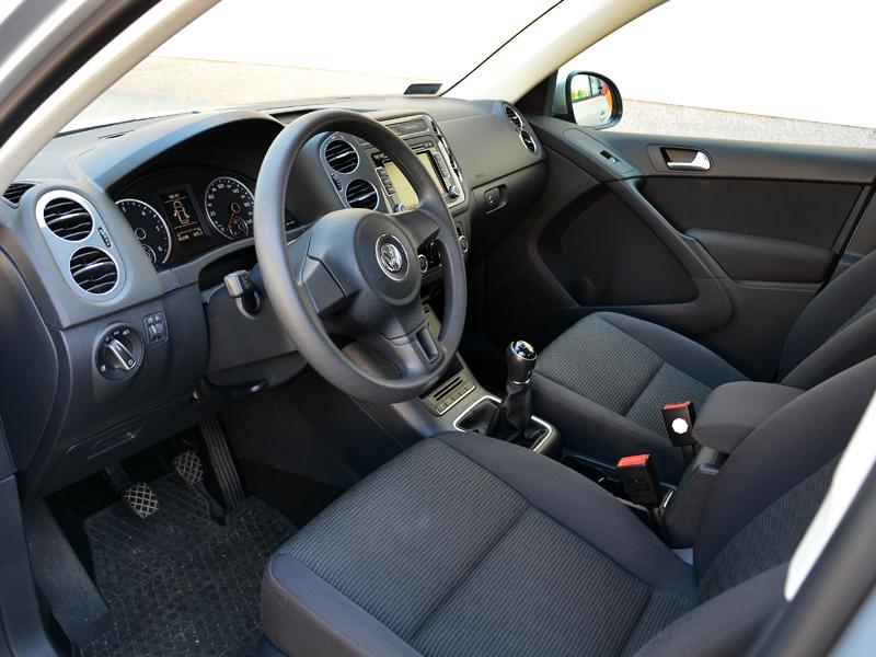 Volkswagen Tiguan belső