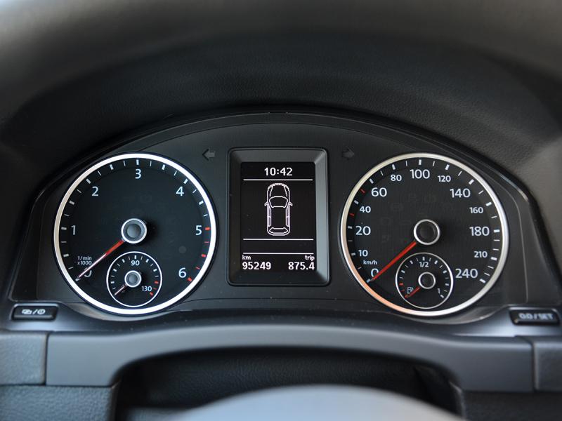 Volkswagen Tiguan műszerfal