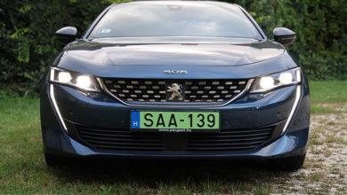 Tekintélyt parancsoló agyaros – Peugeot 508 Hybrid GT Line teszt