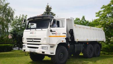 Photo of Az új Kamaz teherautók hazai bemutatóján jártunk