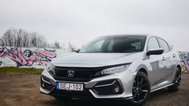 Photo of Honda Civic Sport Plus 1.5 VTEC Turbo teszt – konzervatív fenegyerek