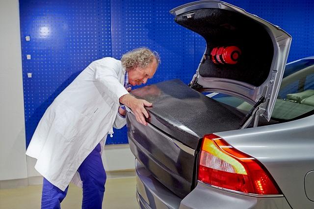Photo of A Volvo energiatároló karosszériaelemei