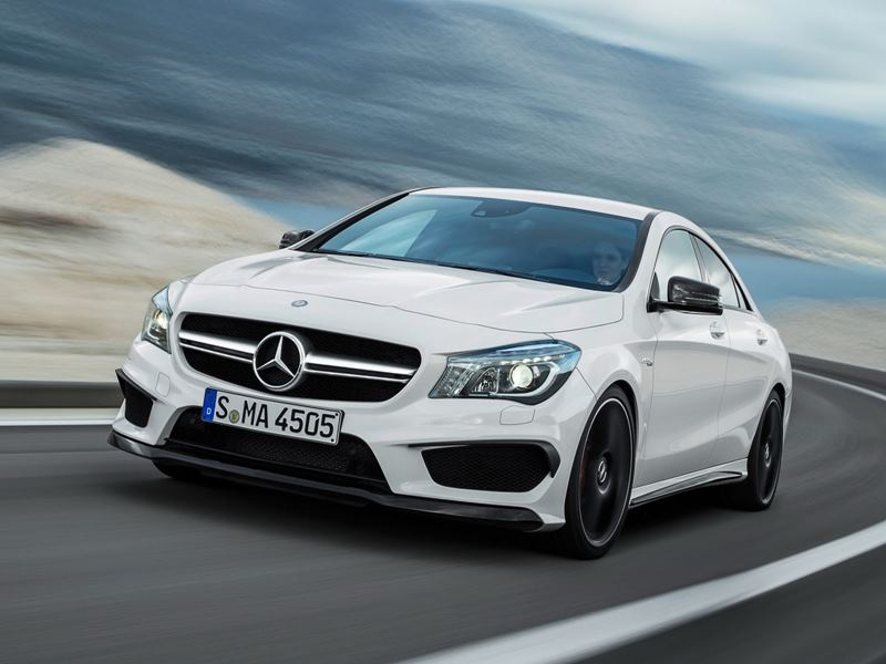Photo of Mercedes CLA 45 AMG