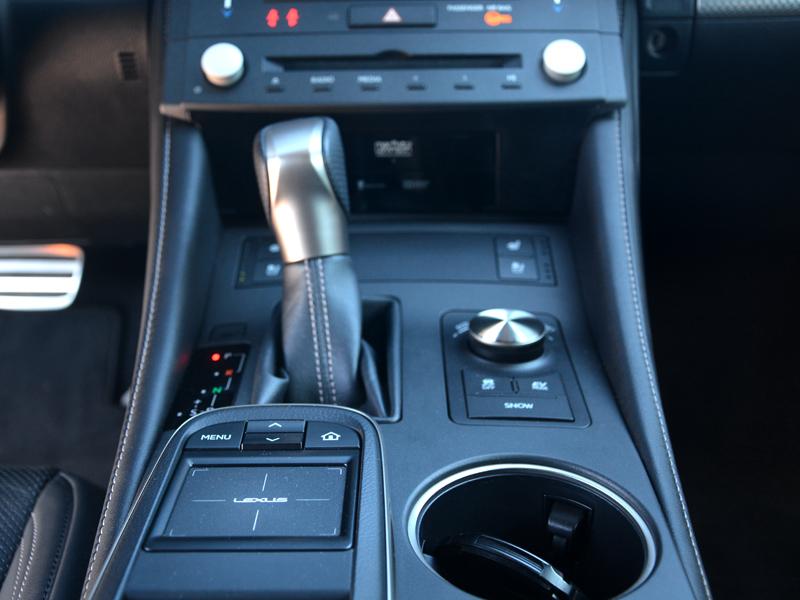 Lexus RC300h váltó