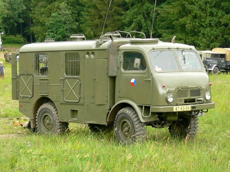 Photo of Terepen a Tatra 805
