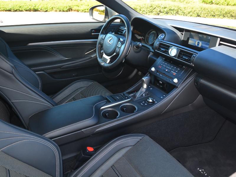 Lexus RC300h belső