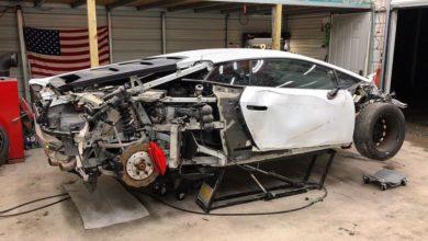 Photo of Egy sérült Lamborghini újjáépítése