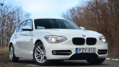 Photo of BMW 116i használtteszt – a legkisebb is számít