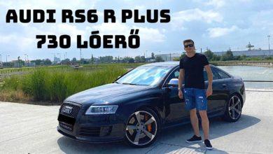 Photo of ÚJABB LIMITÁLT AUTÓ, 730 HP AUDI RS6 R PLUS! 500 DB VAN A VILÁGON