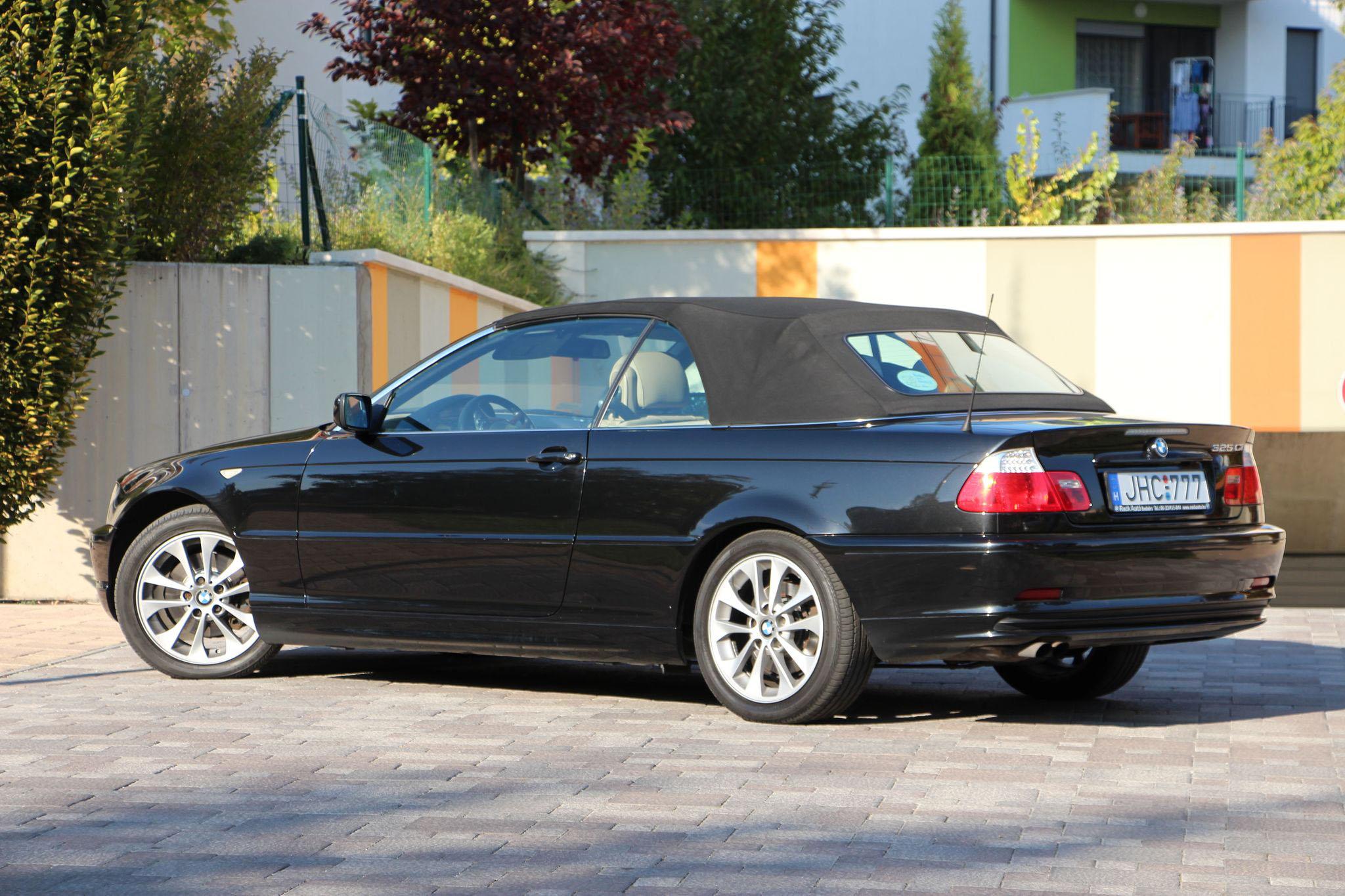 Photo of BMW 325Ci Cabrio teszt (2004) – sok pénz, még több élmény