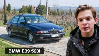 """Photo of BMW E39 523i használtteszt – az utolsó """"igazi"""" BMW?"""