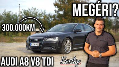 """Photo of """"Megéri?"""" – AUDI A8 V8 TDI (351LE!!) HASZNÁLTTESZT – 300.000Km"""