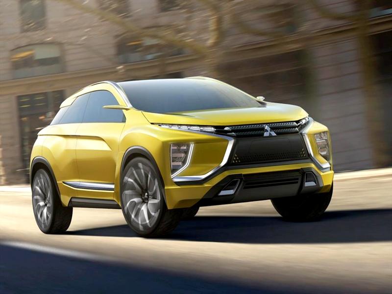 Photo of Mitsubishi eX Concept – elektromos SUV