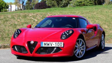 Photo of Alfa Romeo 4C teszt – vörös ördögfióka