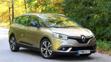 Photo of Renault Grand Scénic 1.2 TCe teszt – divatos családi buborék