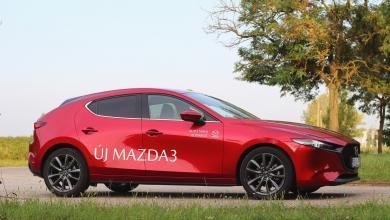 Photo of Mazda 3 Skyactiv-G122 Plus teszt – a japán kompakt személyesen