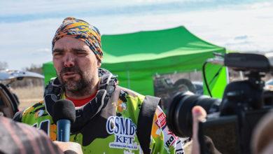 Laller ismét a Spíler TV motoros műsorában vendégeskedett