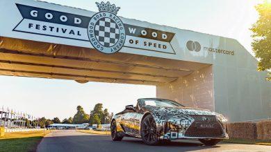 Goodwoodban mutatta meg magát a Lexus LC Convertible szériaváltozata