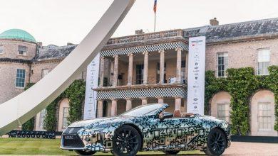 Photo of Goodwoodban mutatta meg magát a Lexus LC Convertible szériaváltozata