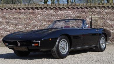 "Photo of MASERATI GHIBLI 4.7 SPYDER ""CAMPANA"" (1968)"