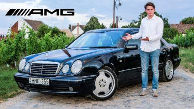 Photo of Mercedes W210 E55 AMG teszt – a csúcs PÁPASZEMES!