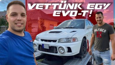 Photo of VETTÜNK EGY MITSUBISHI LANCER EVO IV-ET – ZambellyMotors VLOG