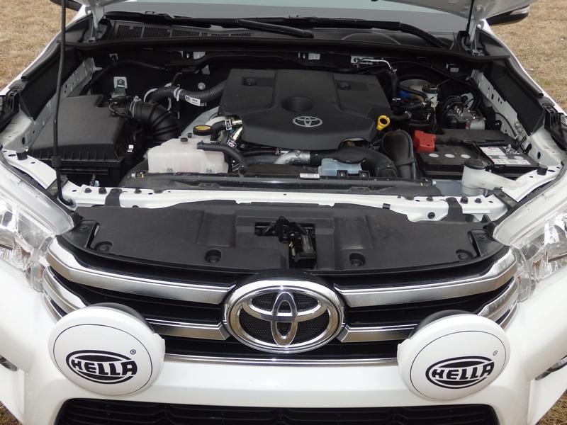 Toyota Hilux motor