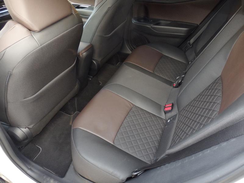 Toyota C-HR ülések