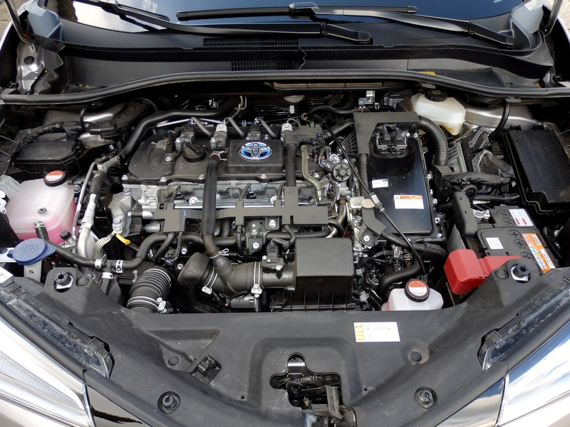 Toyota C-HR motor