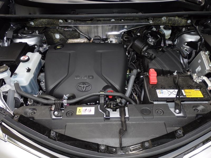 Toyota RAV4 motor