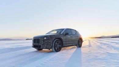 Photo of Téli bevetésen a BMW iNEXT