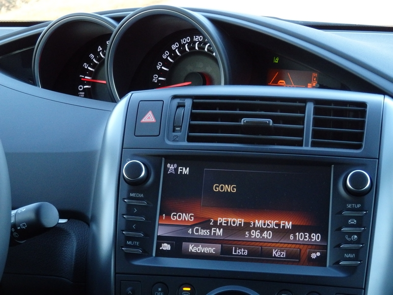 Toyota Verso belső