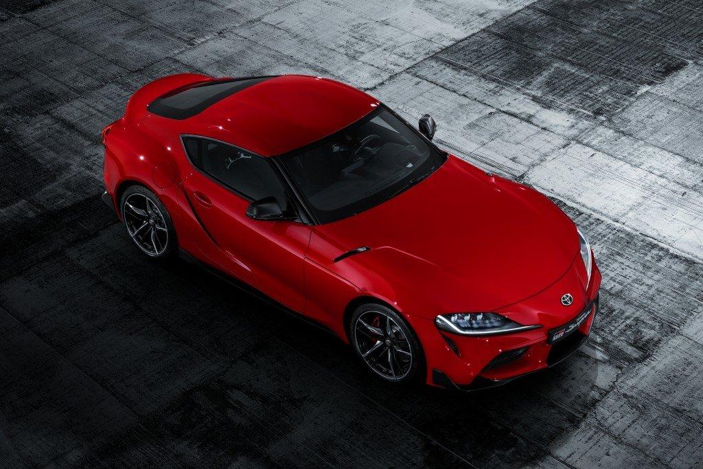 Playboy az év autója Toyota Supra