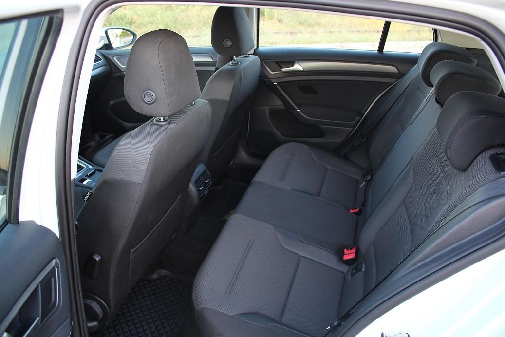 VW e-golf belső