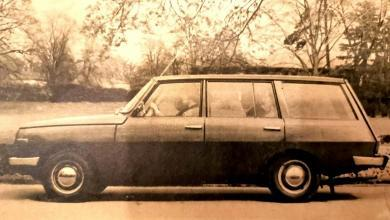 Photo of Wartburg 353 Tourist bemutató 1967-ben
