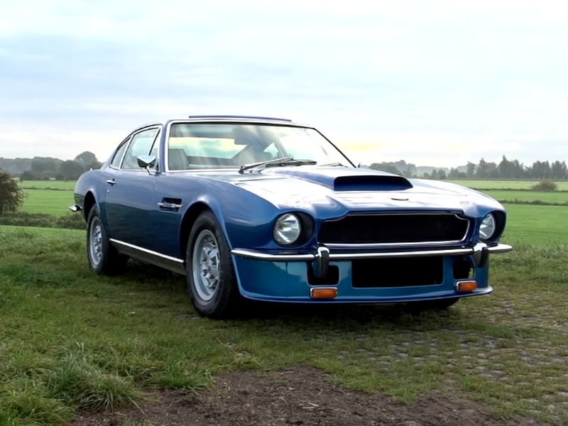 Photo of Aston Martin V8 coupé