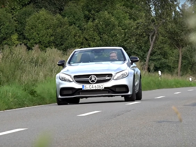Photo of Mercedes-AMG C63 Cabriolet