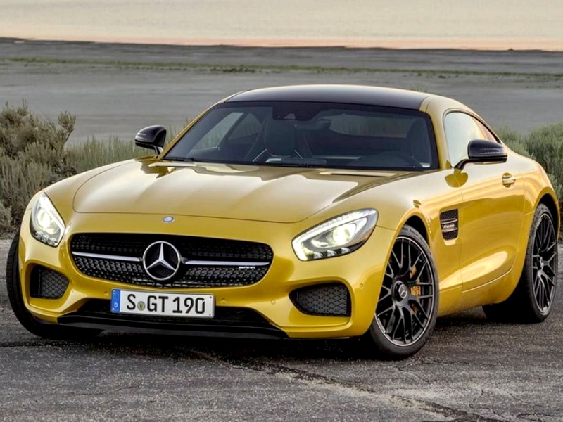 Photo of Mercedes AMG GT 2015