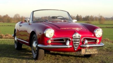 Photo of Alfa Romeo Giulia 1600 Spider