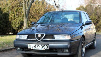 Photo of Alfa Romeo 155 teszt – legendás talján kocka