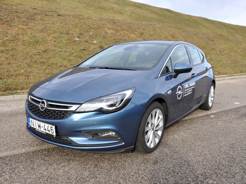 Photo of Opel Astra K menetpróba