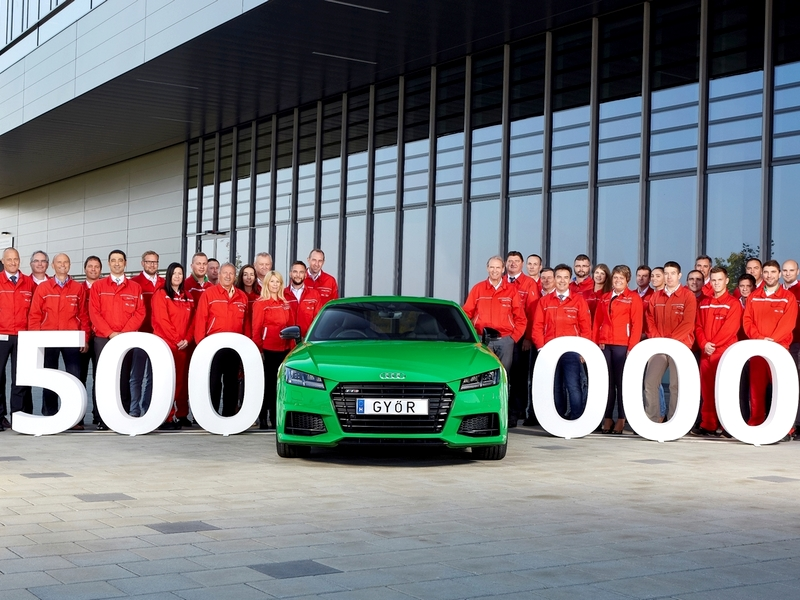 Photo of Audi Hungaria – Félmillió Audi az új győri gyárból