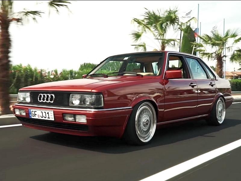 Photo of Audi 90 – vörös ördög