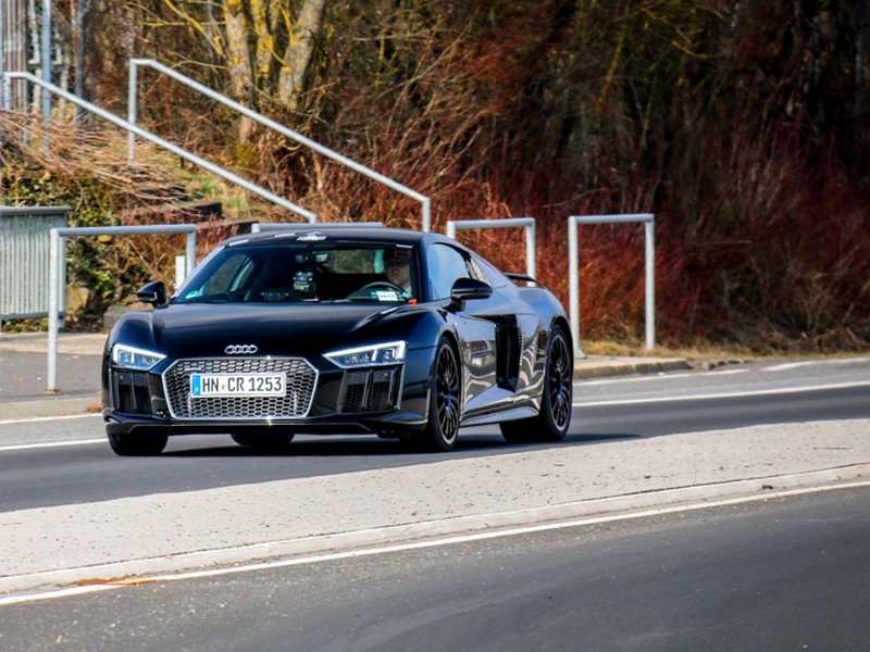 Photo of Audi R8 V10 Plus a Nürburgringen