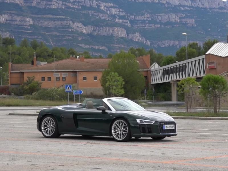 Photo of Audi R8 Spyder