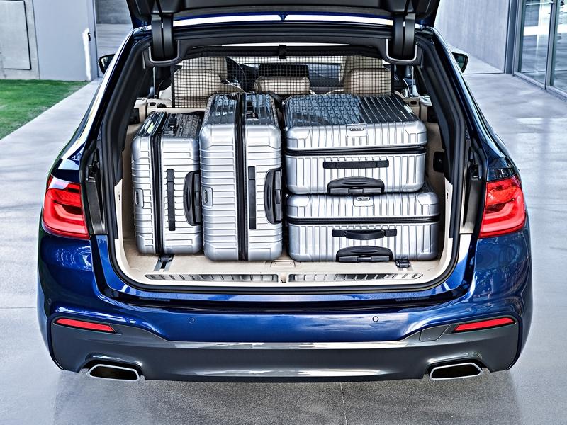 BMW 5-ös Touring csomagtartó