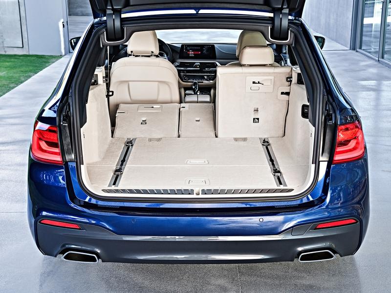 BMW 5-ös Touring csomagtér