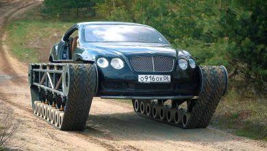 Photo of Bentley Ultratank – lánctalpas szörnyeteg